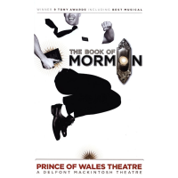 Book of Mormon Logo Poster